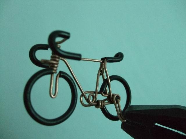 Велосипед с проволоки своими руками