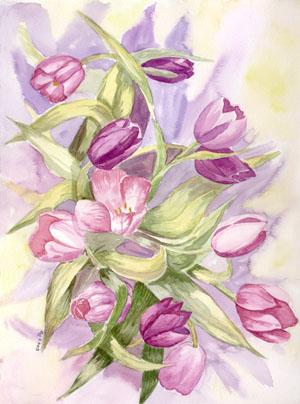 Цветы букеты цветов полевых цветов и