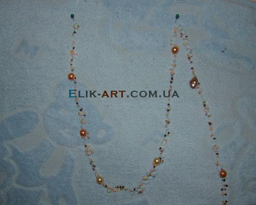 вышитые бисерные браслеты