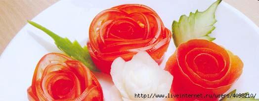 Искусство оформления блюд и кулинарных изделий-032 (524x204, 53Kb)