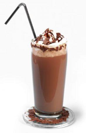 Как приготовить коктейль-антидепрессант.  Рецепт шоколадного шейка.