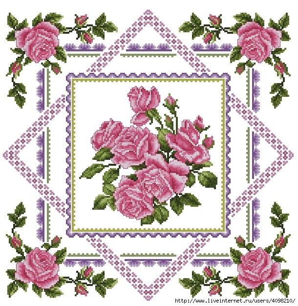 вышивка крестом бесплатные схемы подушки,вышивка подушки крестом,схемы вышивки крестом.
