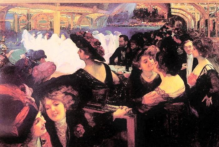Putz Richard Michel (1869-1940)Minuit-au-bal-tabarin-Paris (700x469, 321Kb)