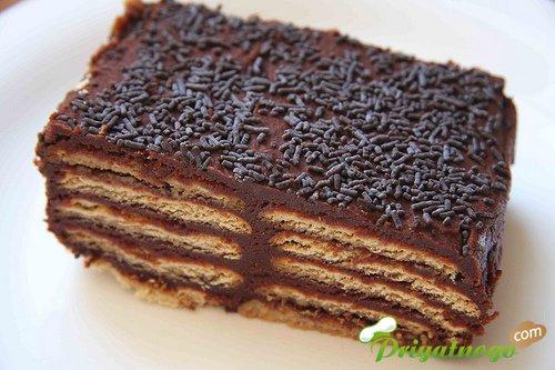 Торты из печенья шоколадные лучшие