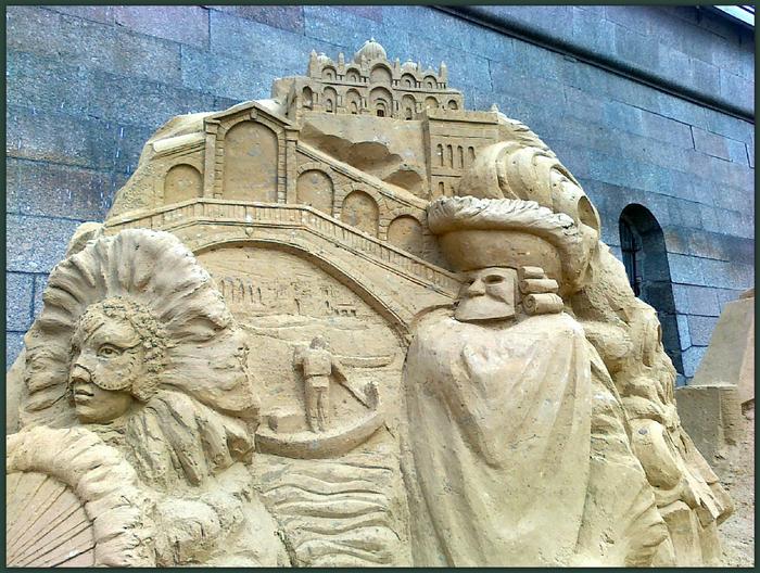 Конкурс песчаных скульптур в спб
