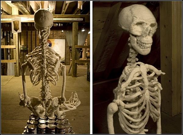 Как сделать скелета своими руками
