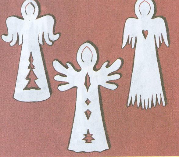 Ангел украшение своими руками