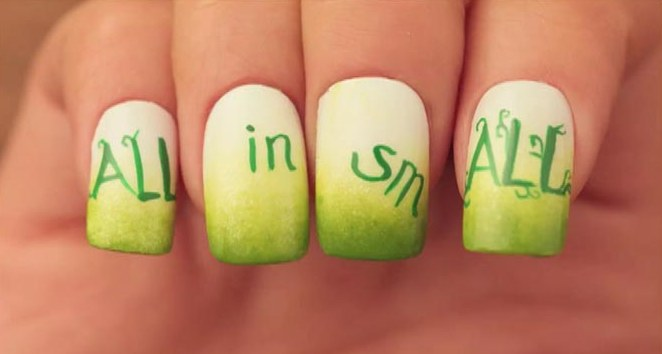 пошаговый дизайн ногтей: