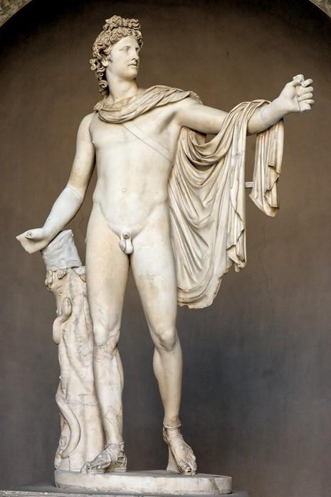 apollo-pio-clementino - идеал мужской красоты!!! (465x700, 67Kb)