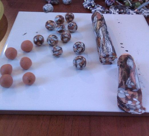 Как сделать круглые бусины