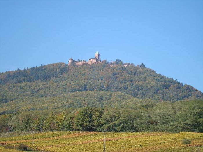Замок Верхний Кенигсбург (Chateau du Haut-Koenigsbourg) 75733