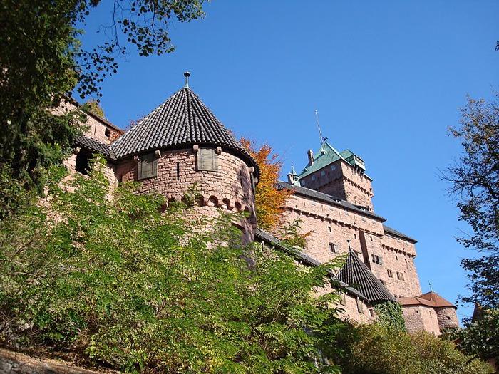 Замок Верхний Кенигсбург (Chateau du Haut-Koenigsbourg) 27280