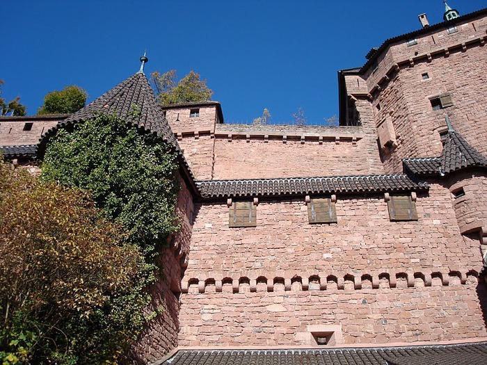 Замок Верхний Кенигсбург (Chateau du Haut-Koenigsbourg) 89474