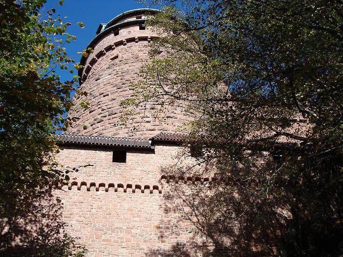 Замок Верхний Кенигсбург (Chateau du Haut-Koenigsbourg) 98859