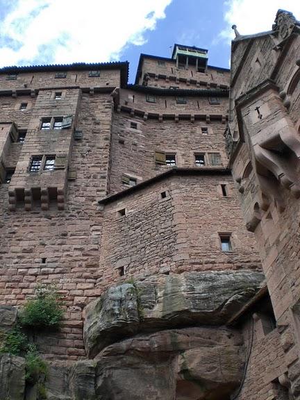 Замок Верхний Кенигсбург (Chateau du Haut-Koenigsbourg) 65386