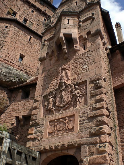 Замок Верхний Кенигсбург (Chateau du Haut-Koenigsbourg) 57679