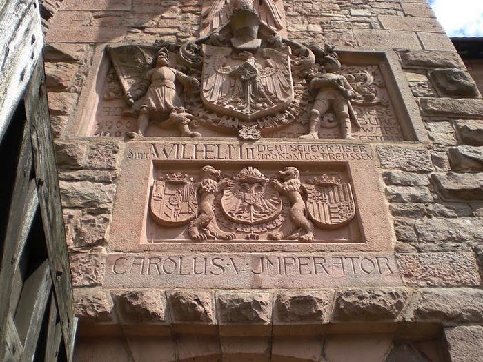 Замок Верхний Кенигсбург (Chateau du Haut-Koenigsbourg) 91871