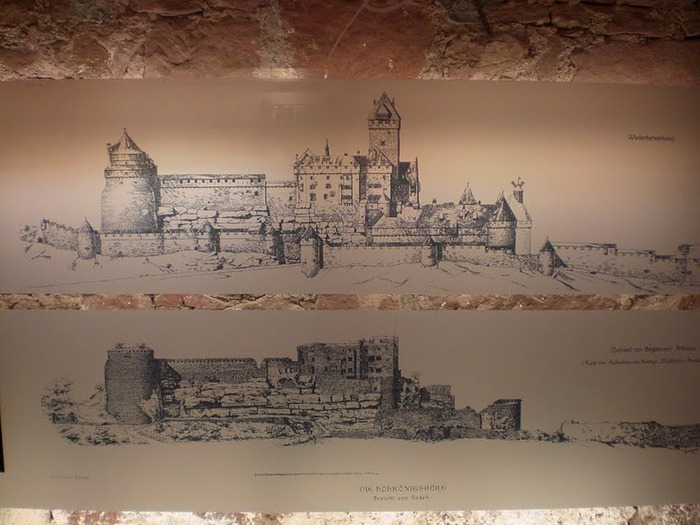 Замок Верхний Кенигсбург (Chateau du Haut-Koenigsbourg) 27751