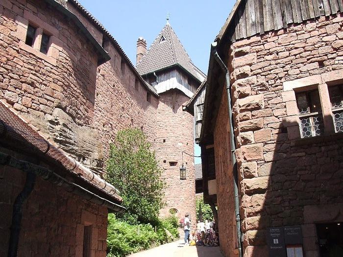 Замок Верхний Кенигсбург (Chateau du Haut-Koenigsbourg) 97260
