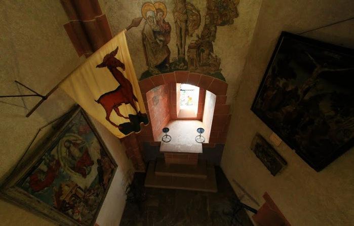 Замок Верхний Кенигсбург (Chateau du Haut-Koenigsbourg) 61955