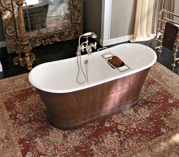Фотографии интерьеров ванных комнат и история появления ванной