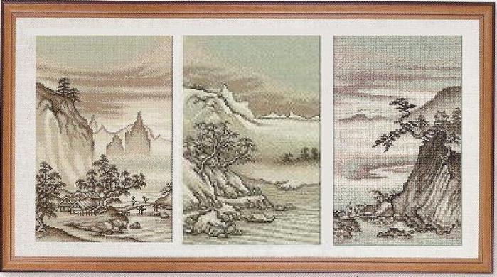 Китайский пейзаж (700x390, 72Kb)