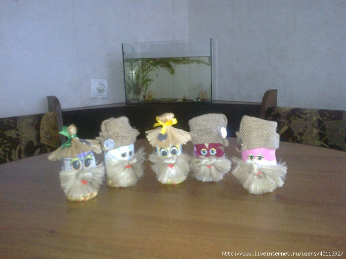 Поделки мягких игрушек домовят - Поделки, делаем самостоятельно