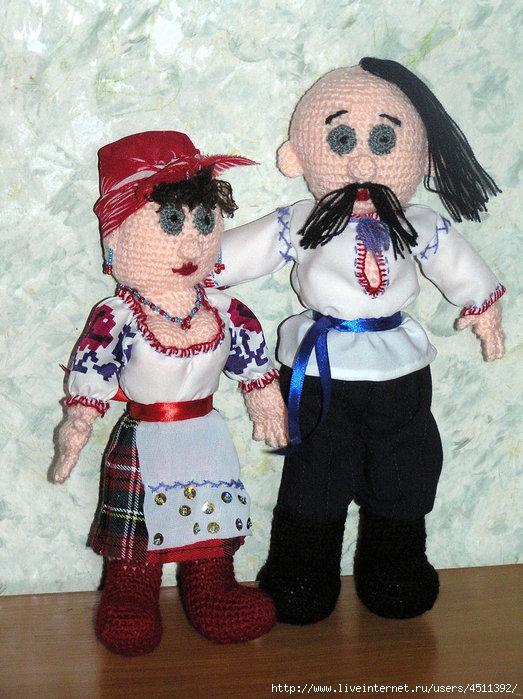 Как сшить куклу своими руками казака и казачку 40