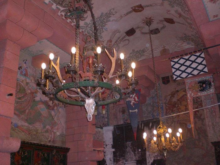 Замок Верхний Кенигсбург (Chateau du Haut-Koenigsbourg) 33969