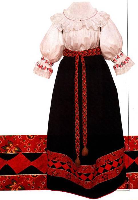 свой цитатник или сообщество!  Исконно русские костюмы: вот она, Родина.