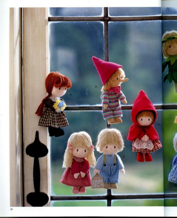 Как сшить куклу для книги