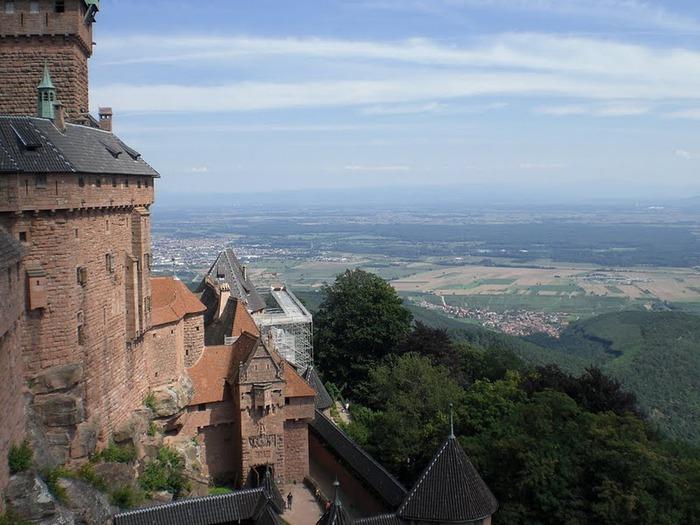 Замок Верхний Кенигсбург (Chateau du Haut-Koenigsbourg) 48010
