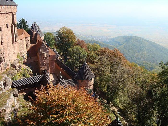 Замок Верхний Кенигсбург (Chateau du Haut-Koenigsbourg) 90110