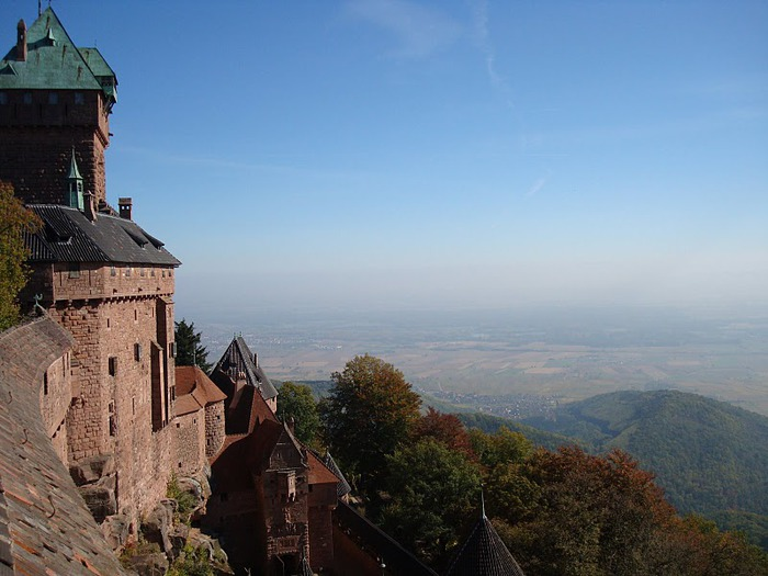 Замок Верхний Кенигсбург (Chateau du Haut-Koenigsbourg) 31321