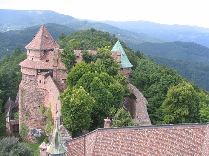 Замок Верхний Кенигсбург (Chateau du Haut-Koenigsbourg) 84626