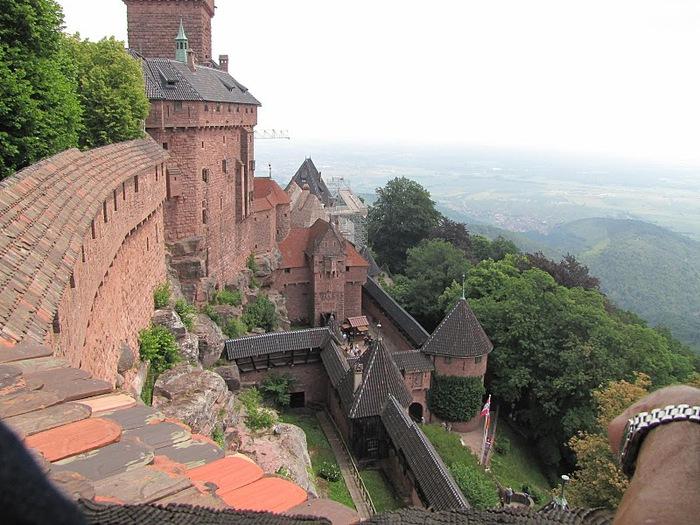 Замок Верхний Кенигсбург (Chateau du Haut-Koenigsbourg) 97604