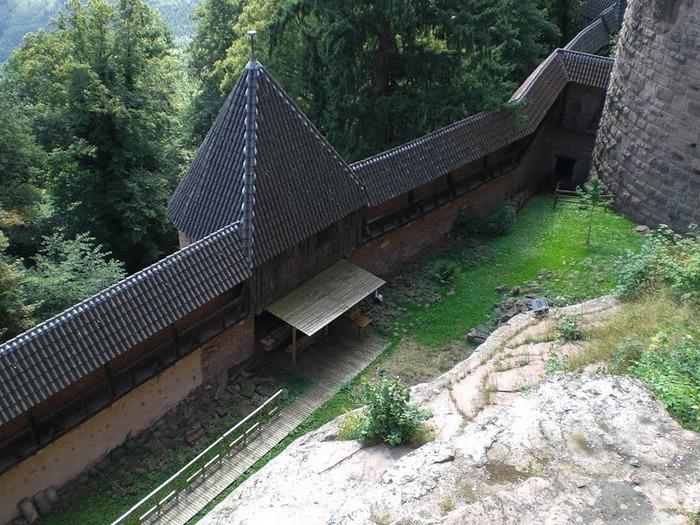 Замок Верхний Кенигсбург (Chateau du Haut-Koenigsbourg) 92599
