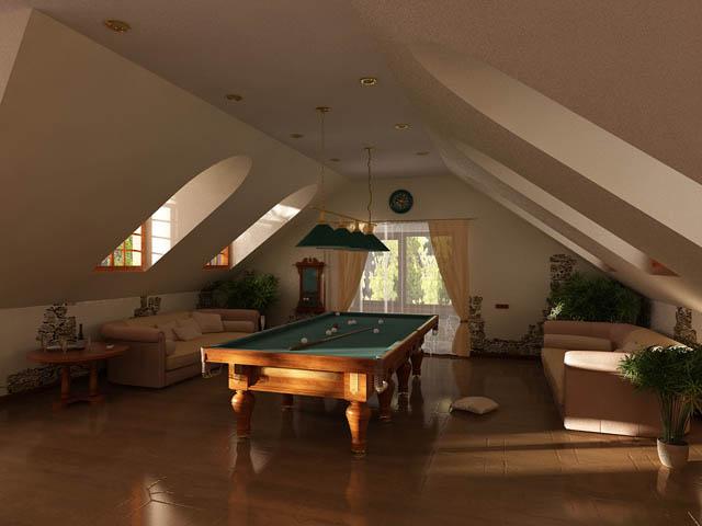 Мансарда - это отдельное помещение (в основном жилое), расположенное на чердаке здания, где каждый скат крыши...