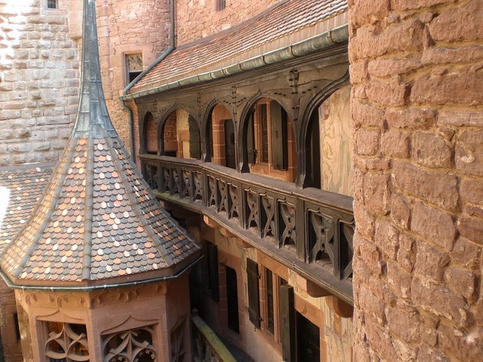 Замок Верхний Кенигсбург (Chateau du Haut-Koenigsbourg) 46432