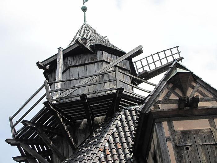 Замок Верхний Кенигсбург (Chateau du Haut-Koenigsbourg) 23111