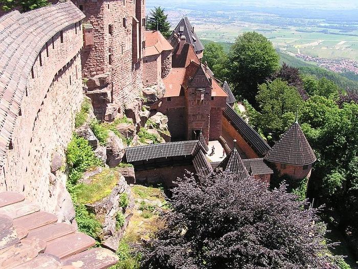 Замок Верхний Кенигсбург (Chateau du Haut-Koenigsbourg) 63568
