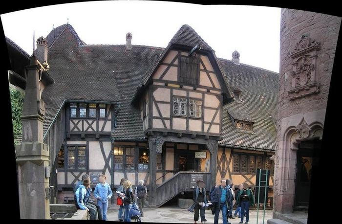 Замок Верхний Кенигсбург (Chateau du Haut-Koenigsbourg) 54647