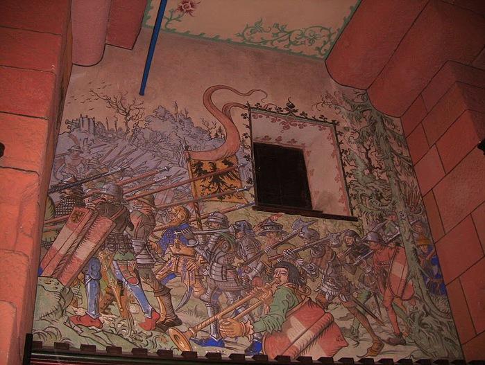 Замок Верхний Кенигсбург (Chateau du Haut-Koenigsbourg) 83398