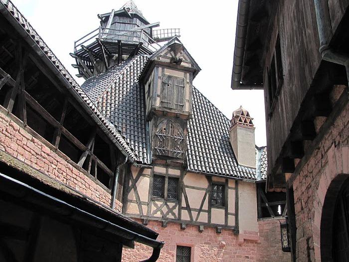 Замок Верхний Кенигсбург (Chateau du Haut-Koenigsbourg) 13788