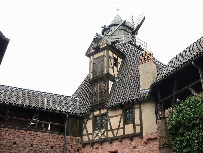 Замок Верхний Кенигсбург (Chateau du Haut-Koenigsbourg) 15239