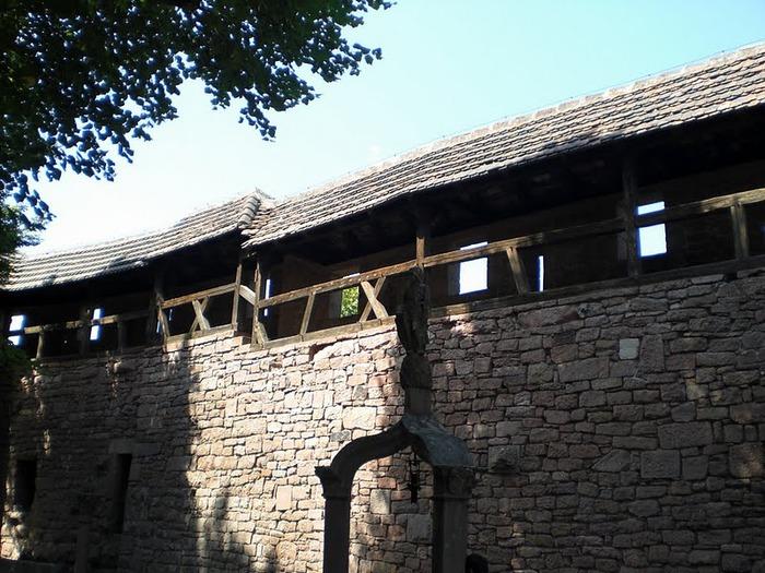 Замок Верхний Кенигсбург (Chateau du Haut-Koenigsbourg) 15982