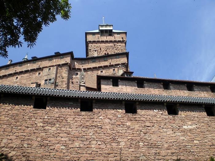 Замок Верхний Кенигсбург (Chateau du Haut-Koenigsbourg) 96110