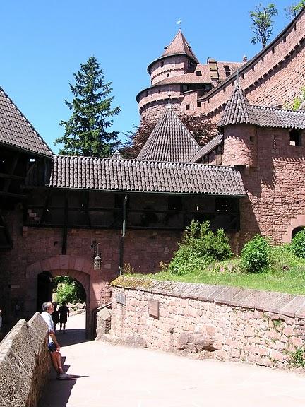 Замок Верхний Кенигсбург (Chateau du Haut-Koenigsbourg) 70520