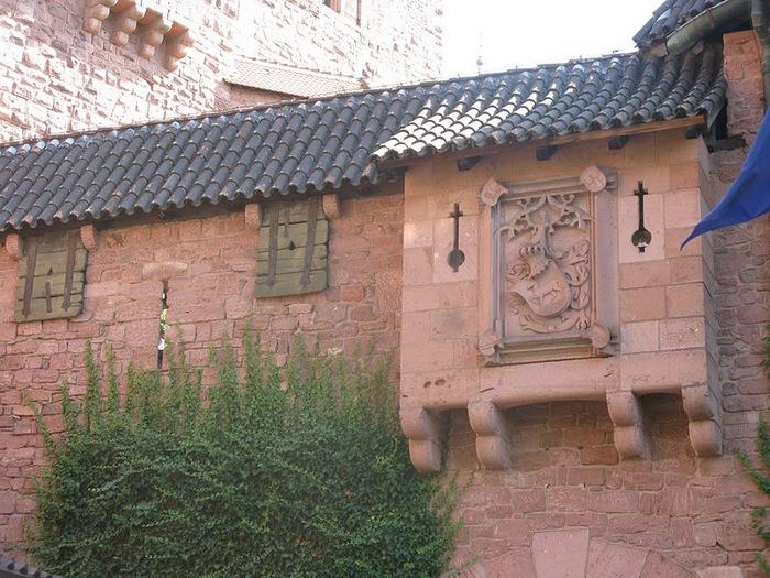 Замок Верхний Кенигсбург (Chateau du Haut-Koenigsbourg) 31142
