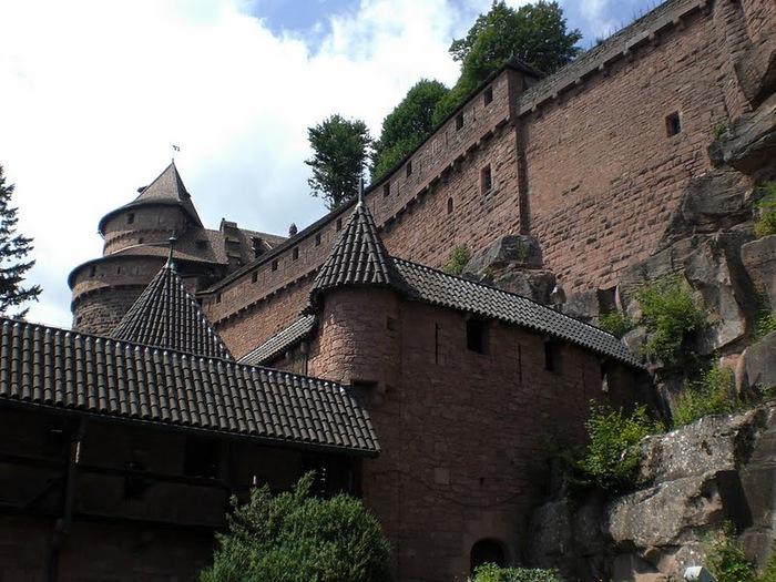 Замок Верхний Кенигсбург (Chateau du Haut-Koenigsbourg) 68844
